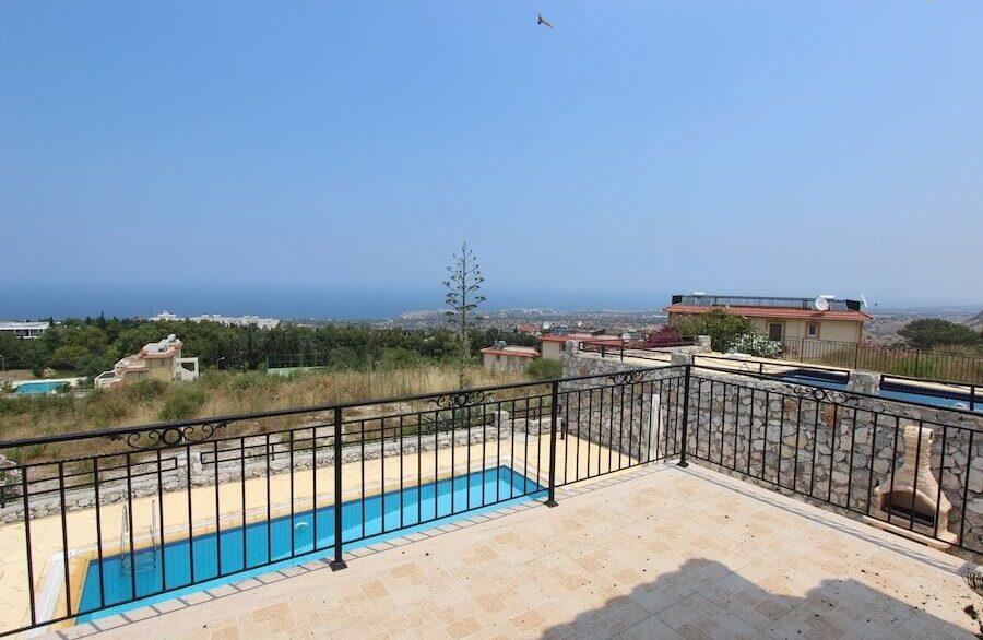 Arapkoy Panoramic Seaview Villa 3 Bed - North Cyprus Property 7