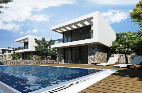 Bahceli Coast Luxury Seaview Semi Detached Villa - North Cyprus Property 1
