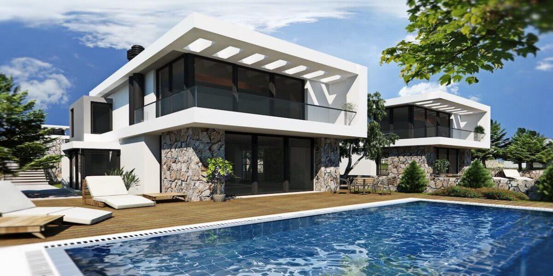 Bahceli Coast Luxury Seaview Semi Detached Villa - North Cyprus Property 2
