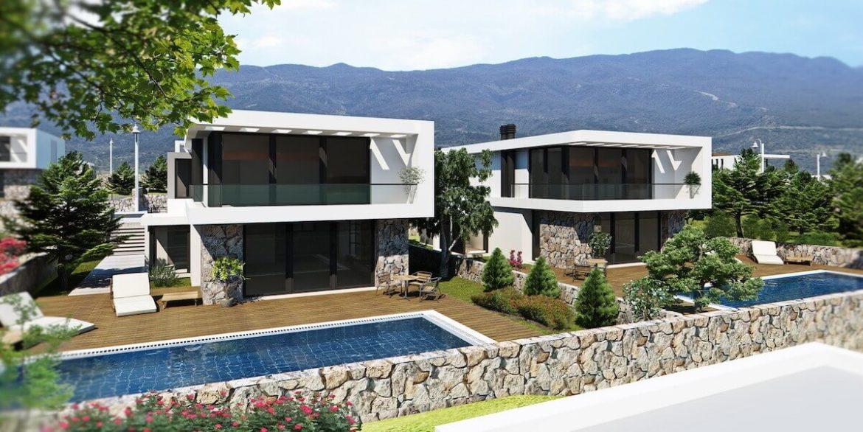 Bahceli Coast Luxury Seaview Semi Detached Villa - North Cyprus Property 3