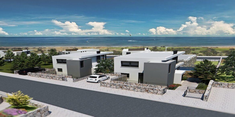 Bahceli Coast Luxury Seaview Semi Detached Villa - North Cyprus Property 4