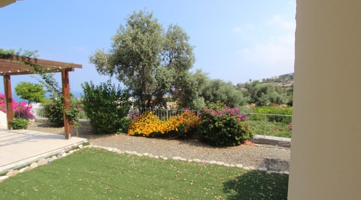 Esentepe Seaview Garden Apartment 3 Bed - North Cyprus Property 10