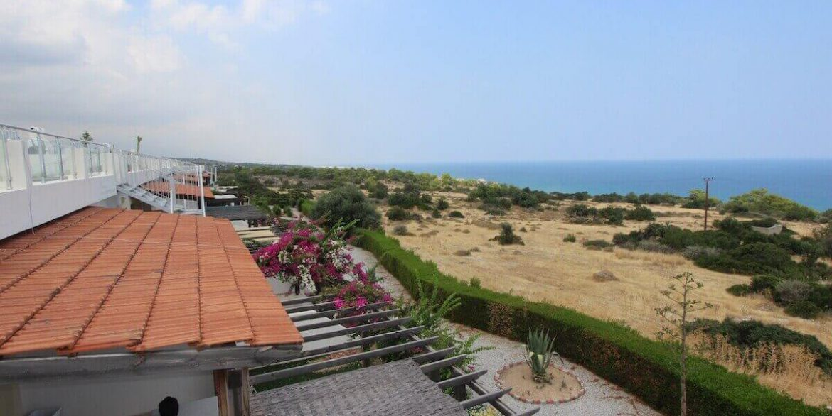 Esentepe Seaview Penthouse 1 Bed - North Cyprus Property 10