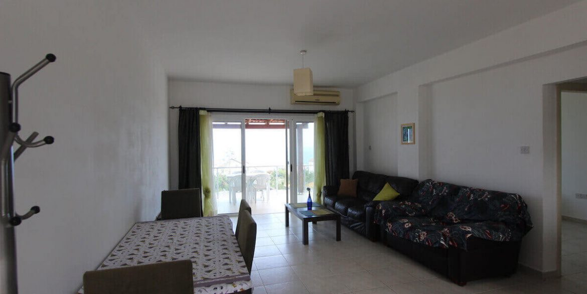 Esentepe Seaview Penthouse 1 Bed - North Cyprus Property 11