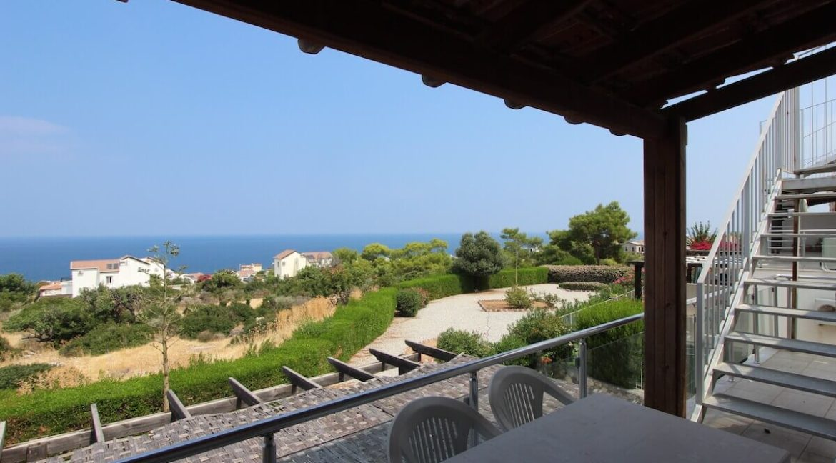 Esentepe Seaview Penthouse 1 Bed - North Cyprus Property 3