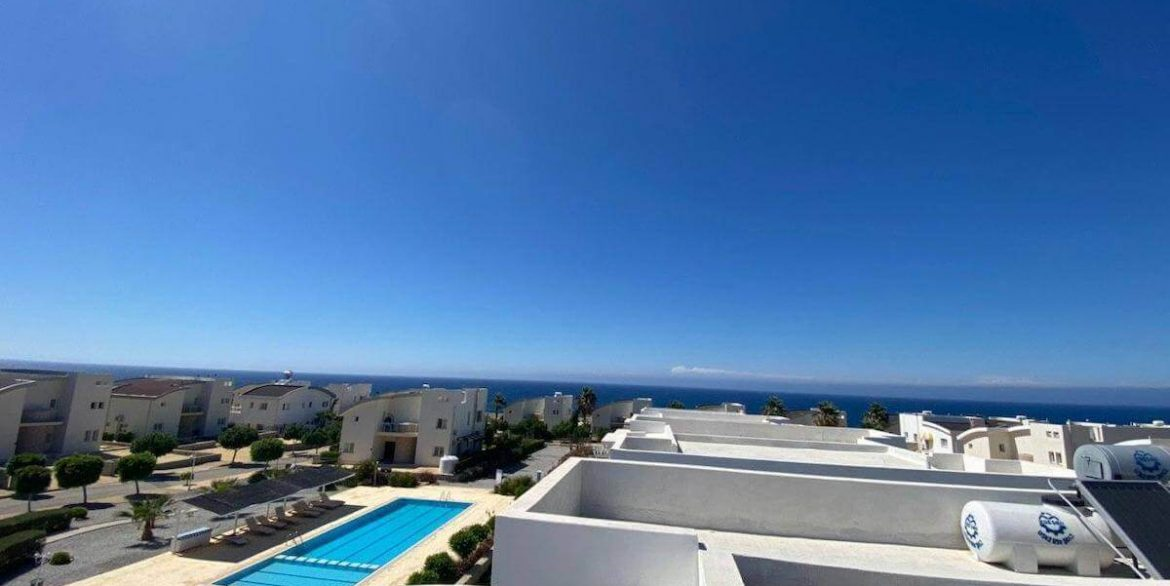 Ultra-modern 2 Bed Seafront Penthouse - North Cyprus Property R5