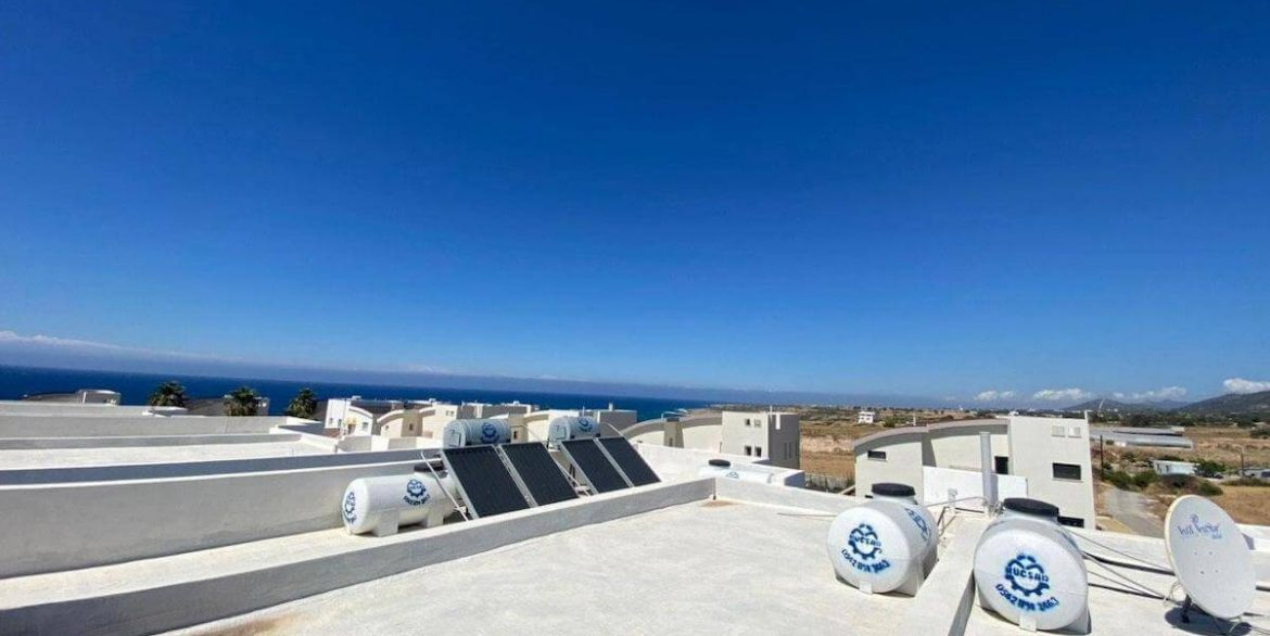 Ultra-modern 2 Bed Seafront Penthouse - North Cyprus Property R6