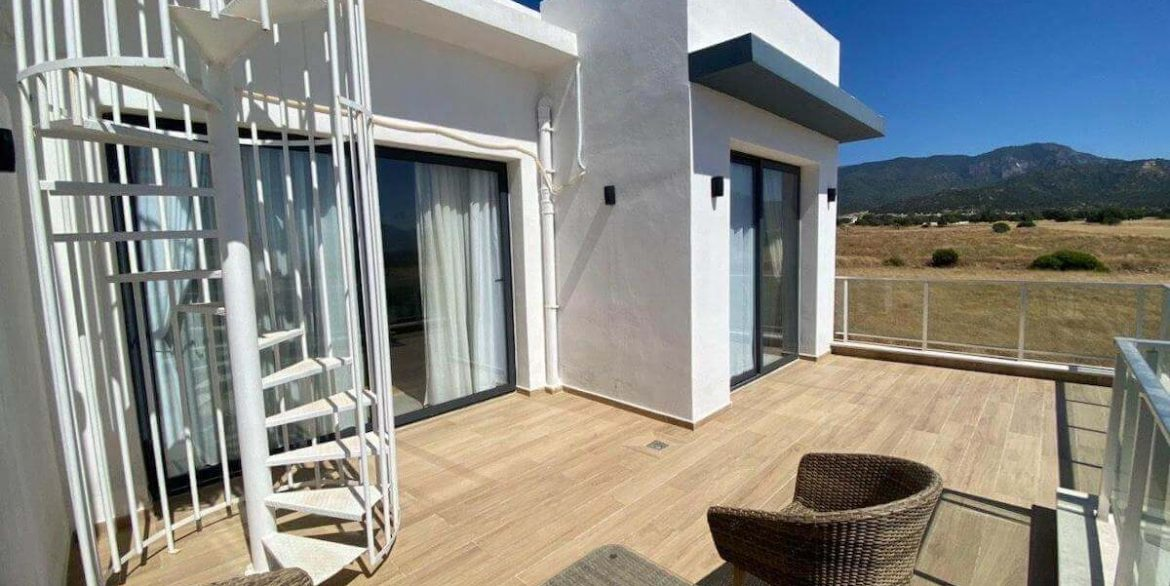 Ultra-modern Seaview Apartments - North Cyprus Property E3