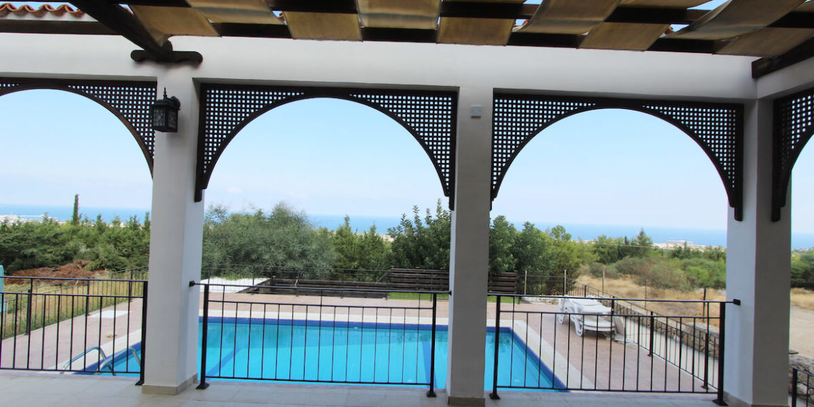 Bellapais Coast View Villa 3 Bed - North Cyprus Property 12