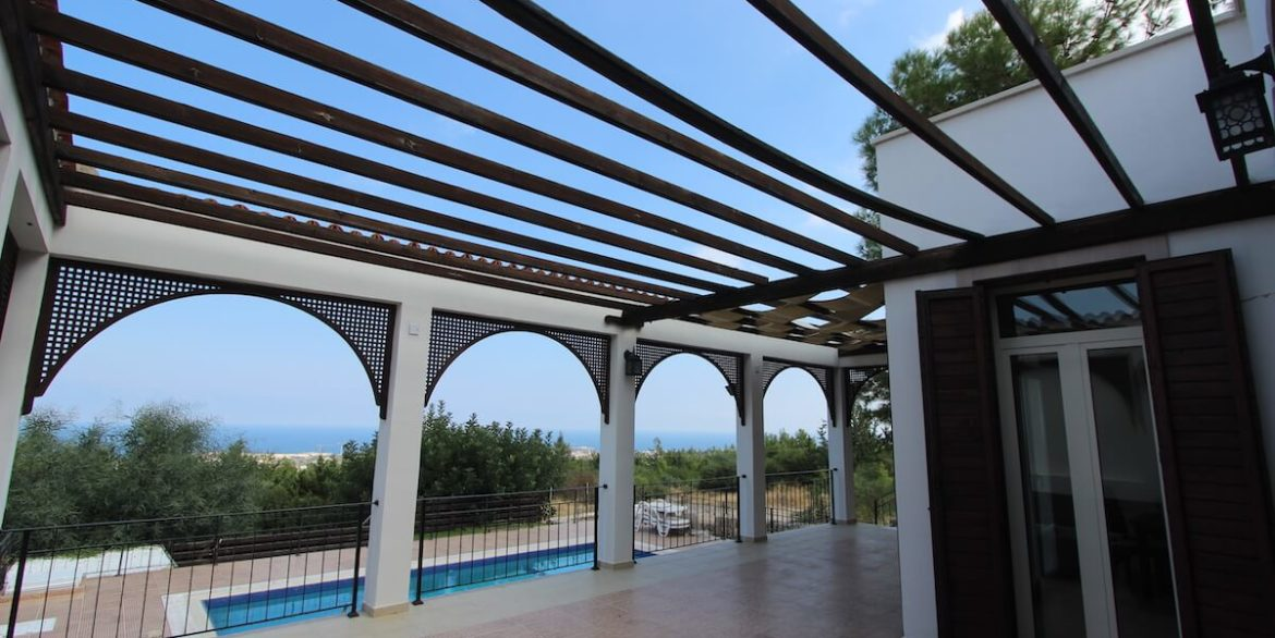Bellapais Coast View Villa 3 Bed - North Cyprus Property 13