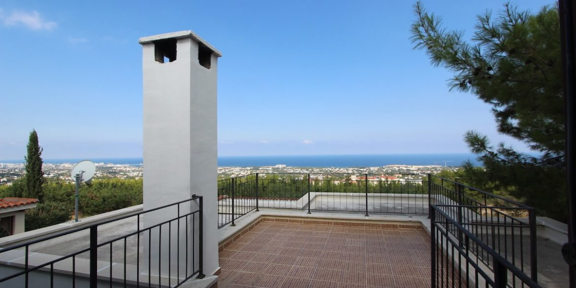Bellapais Coast View Villa 3 Bed - North Cyprus Property 25