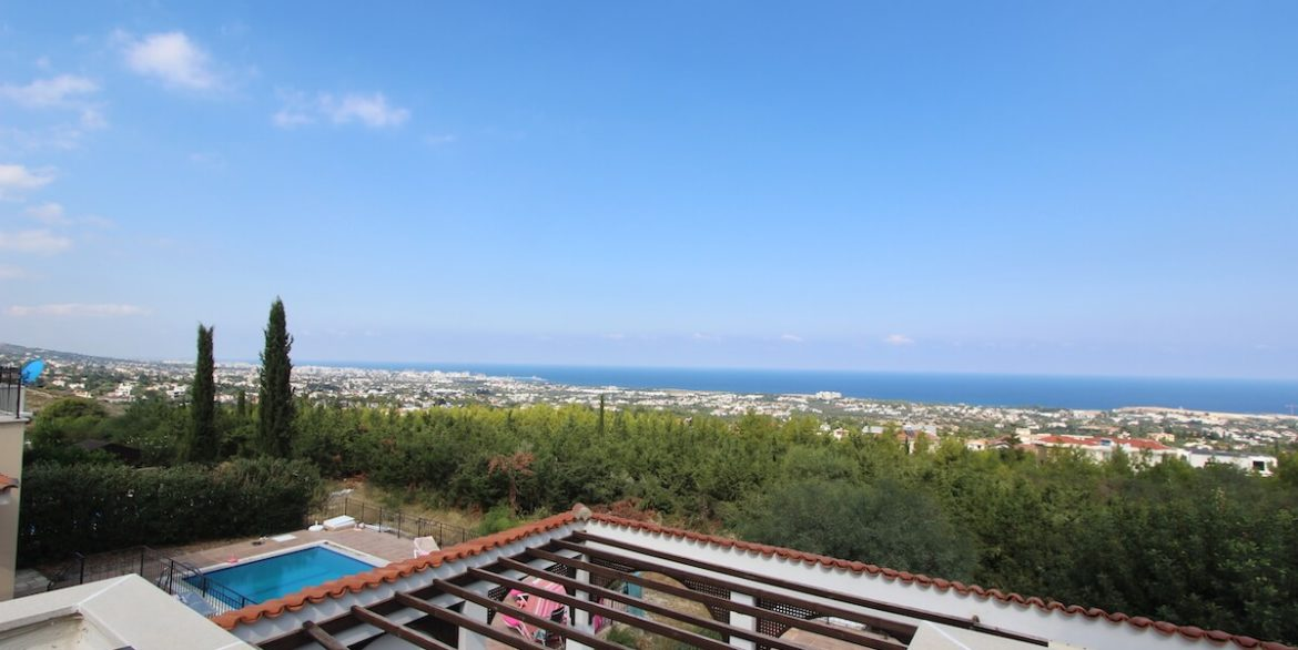 Bellapais Coast View Villa 3 Bed - North Cyprus Property 26