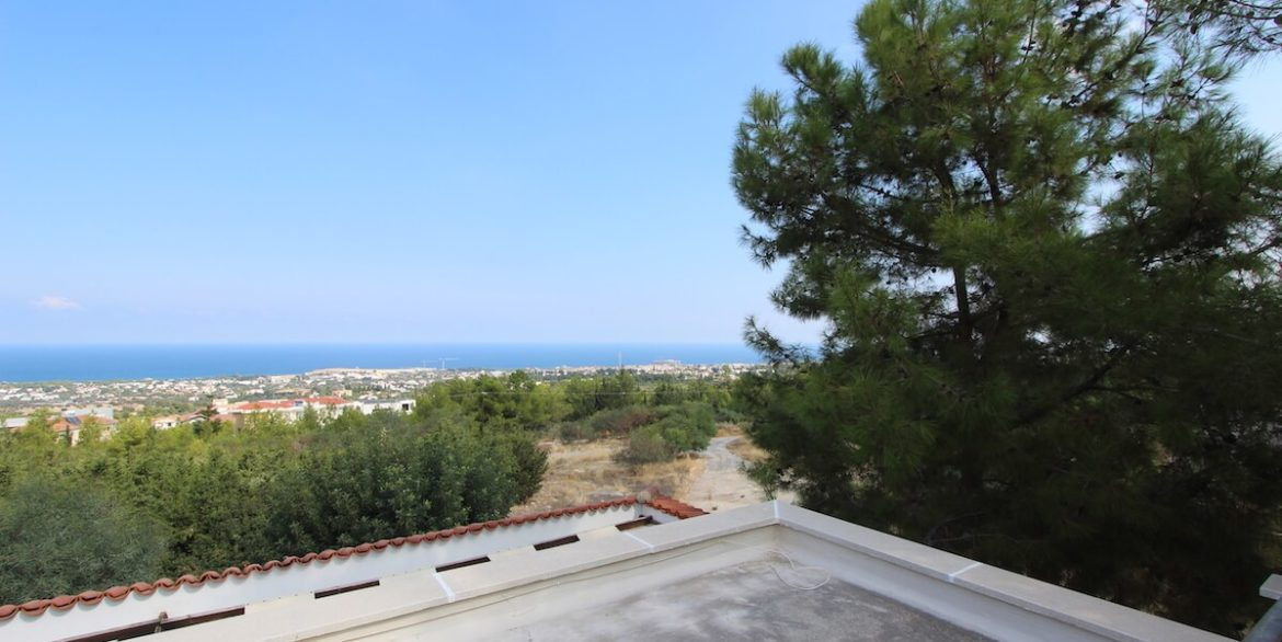 Bellapais Coast View Villa 3 Bed - North Cyprus Property 27
