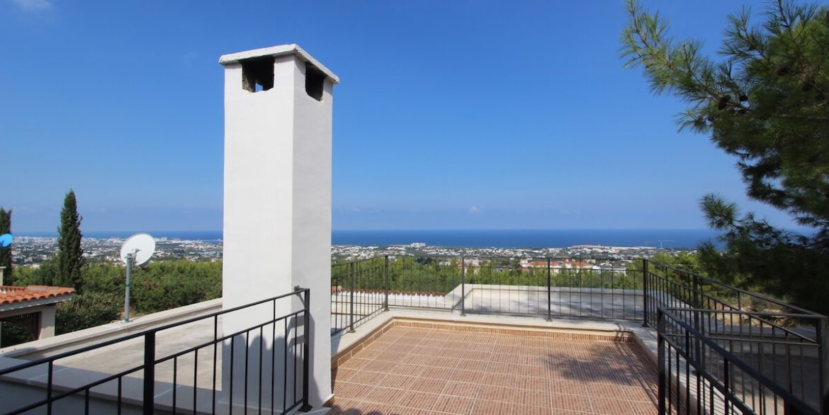 Bellapais Coast View Villa 3 Bed - North Cyprus Property 36