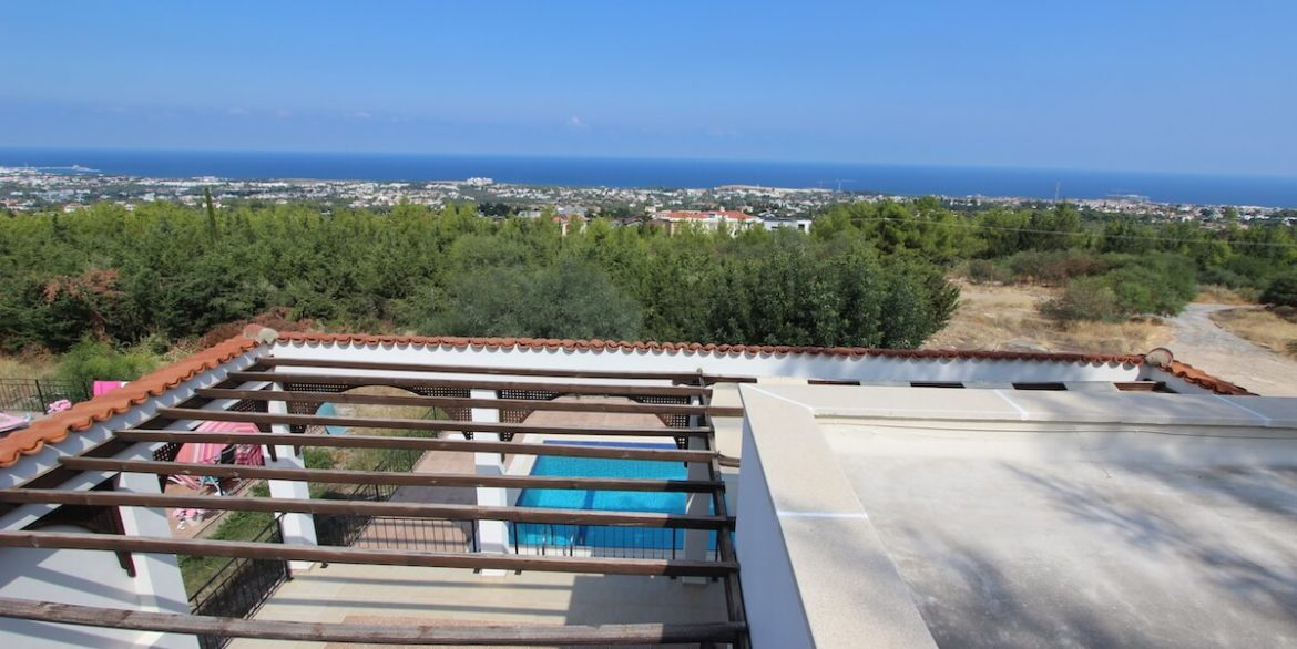 Bellapais Coast View Villa 3 Bed - North Cyprus Property 38