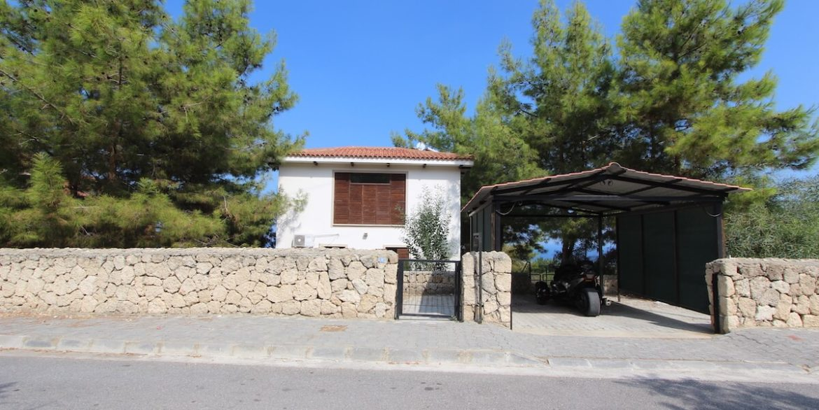 Bellapais Coast View Villa 3 Bed - North Cyprus Property 42