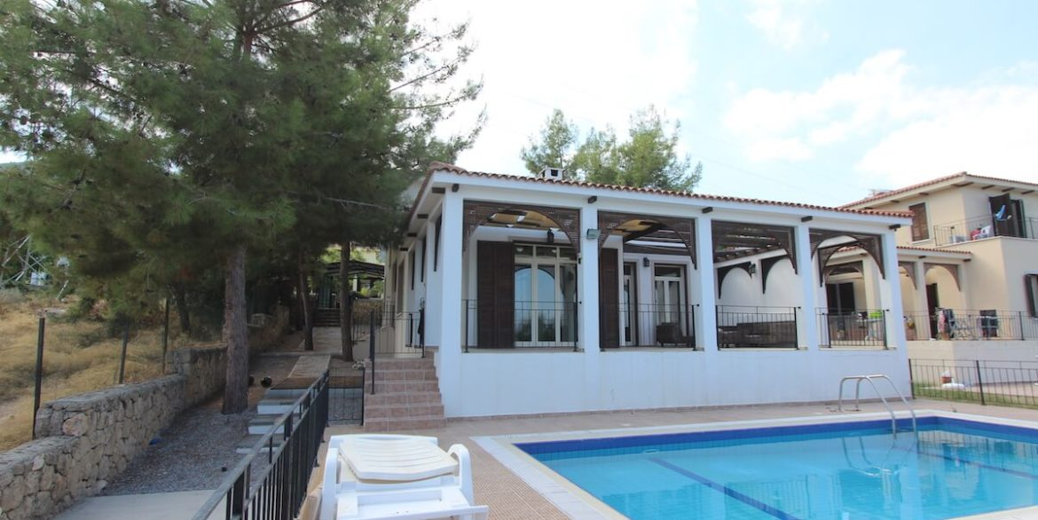 Bellapais Coast View Villa 3 Bed - North Cyprus Property 5