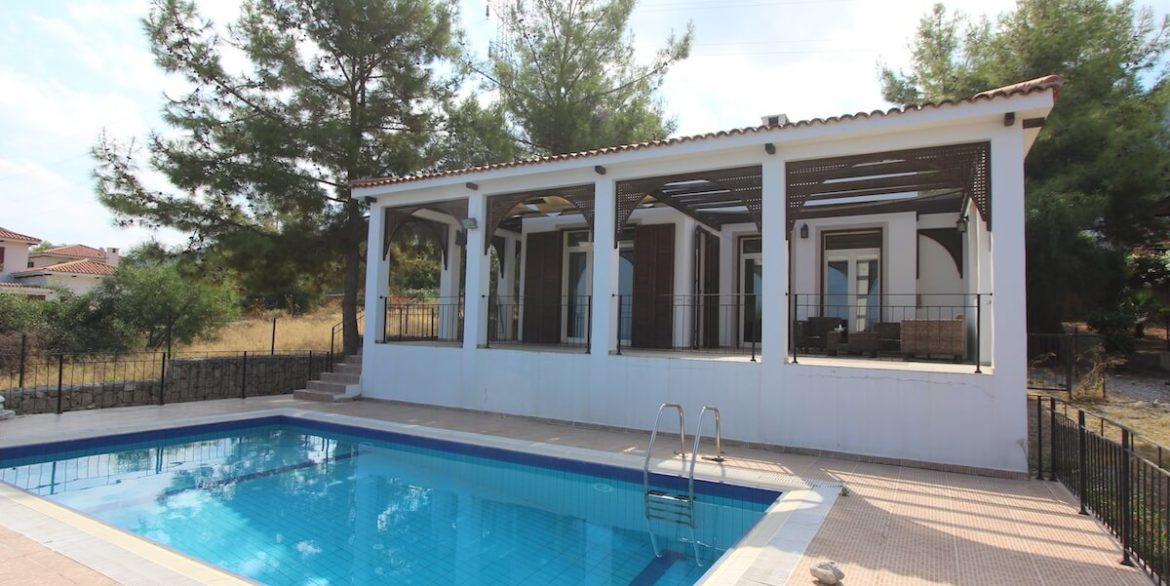Bellapais Coast View Villa 3 Bed - North Cyprus Property 8