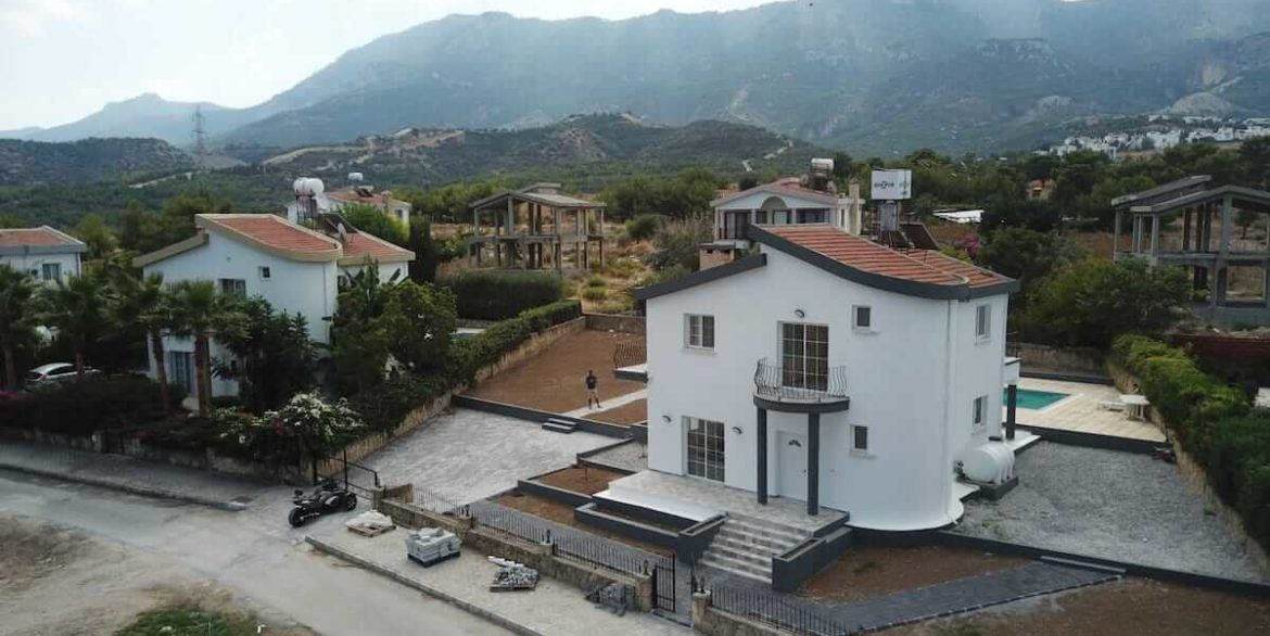 Catalkoy Modern Seaview villa - North Cyprus Property 23