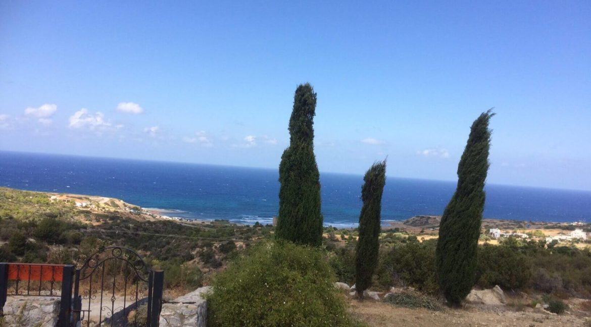 Karpaz Coast View Villa 2 Donum - North Cyprus Property Z7