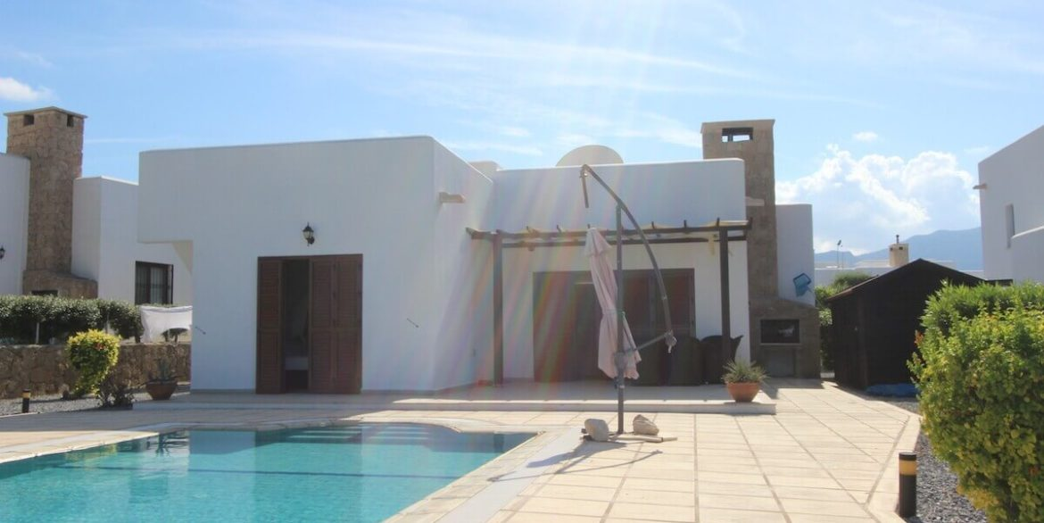 Turtle Beach Seaview Bungalow 3 Bed - North Cyprus Property 21