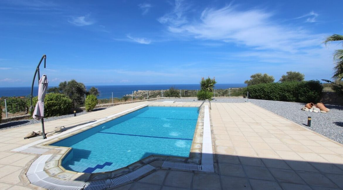 Turtle Beach Seaview Bungalow 3 Bed - North Cyprus Property 5