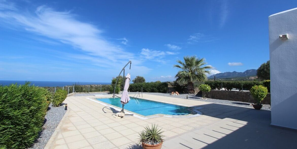 Turtle Beach Seaview Bungalow 3 Bed - North Cyprus Property 6