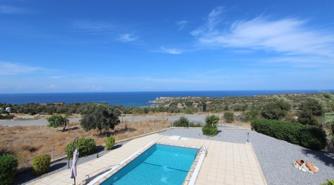 Turtle Beach Seaview Bungalow 3 Bed - North Cyprus Property 8