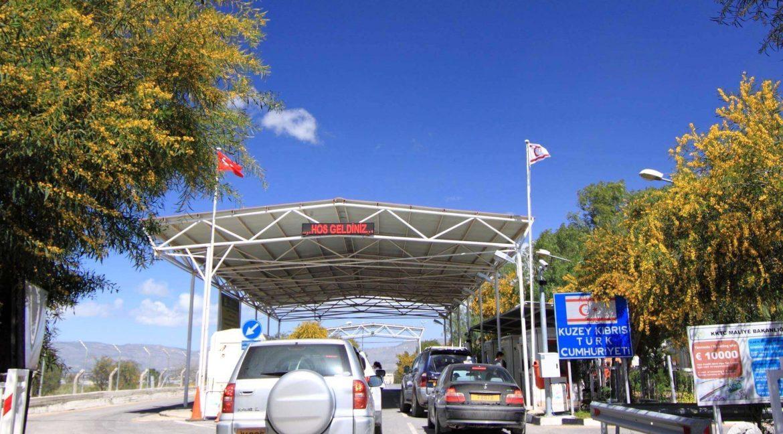 North Cyprus Metahan Border Crossing