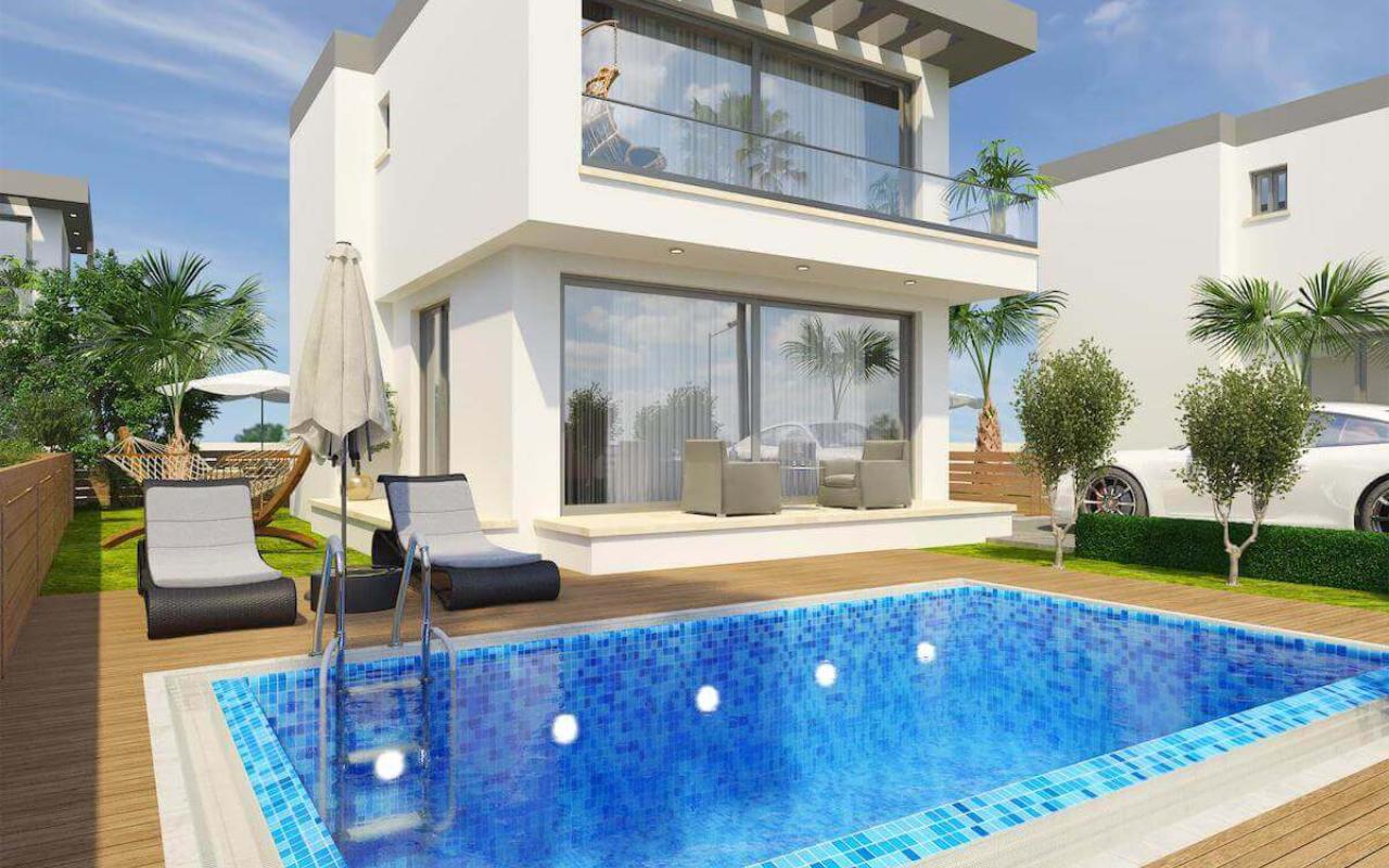 Esentepe Beach Modern Villa 3 Bed