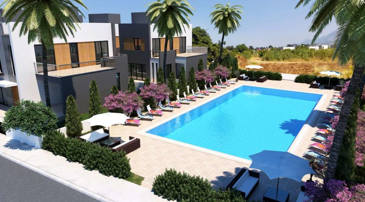 Karsiyaka Modern Luxury Seaview Villa 3 Bed - North Cyprus Property 1
