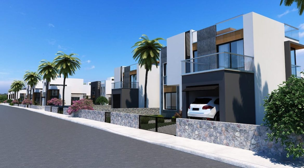 Karsiyaka Modern Luxury Seaview Villa 3 Bed - North Cyprus Property 10