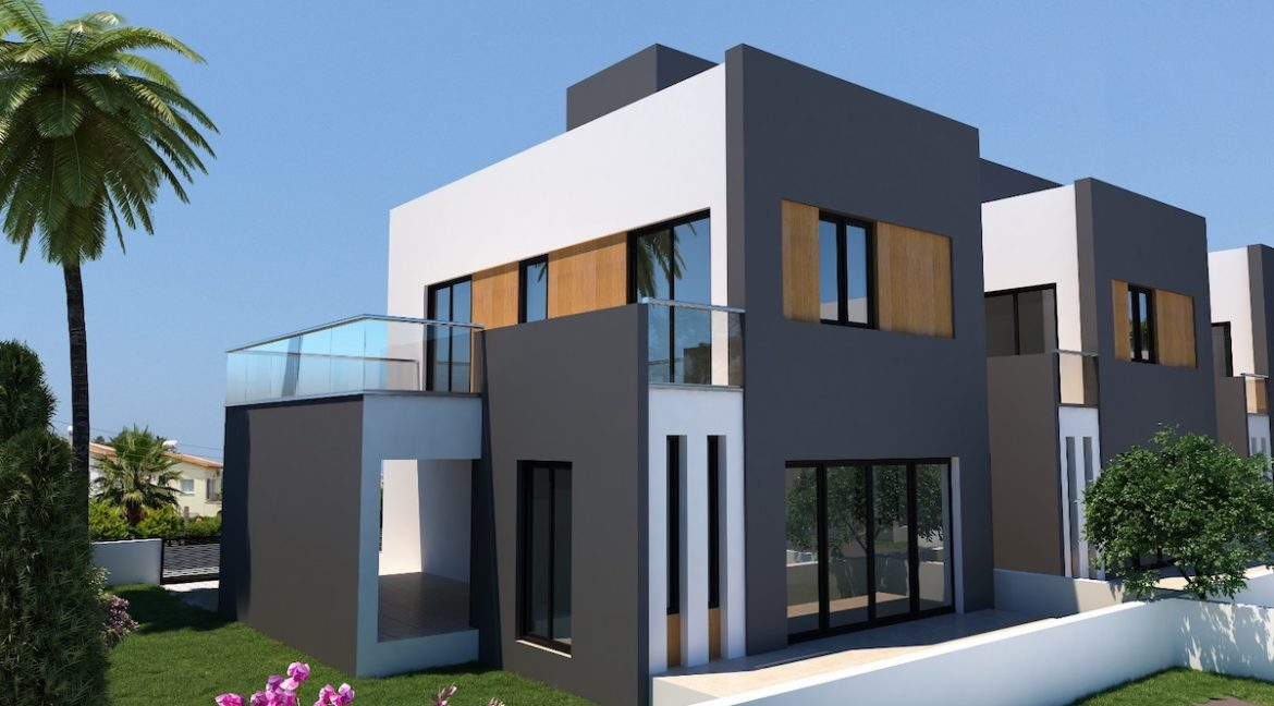 Karsiyaka Modern Luxury Seaview Villa 3 Bed - North Cyprus Property 11
