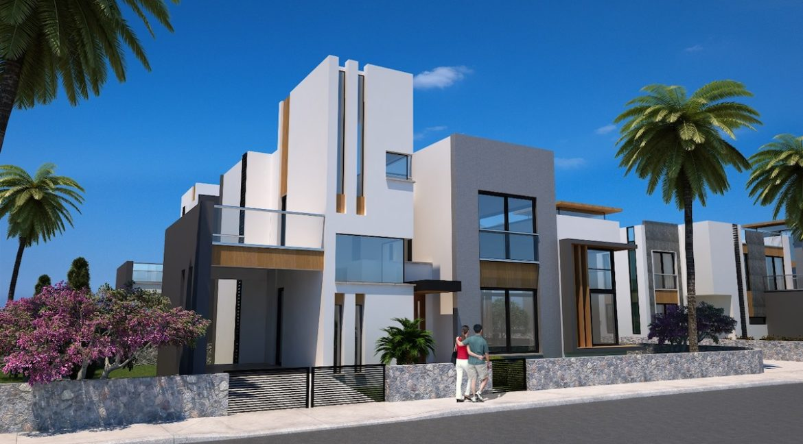 Karsiyaka Modern Luxury Seaview Villa 3 Bed - North Cyprus Property 13