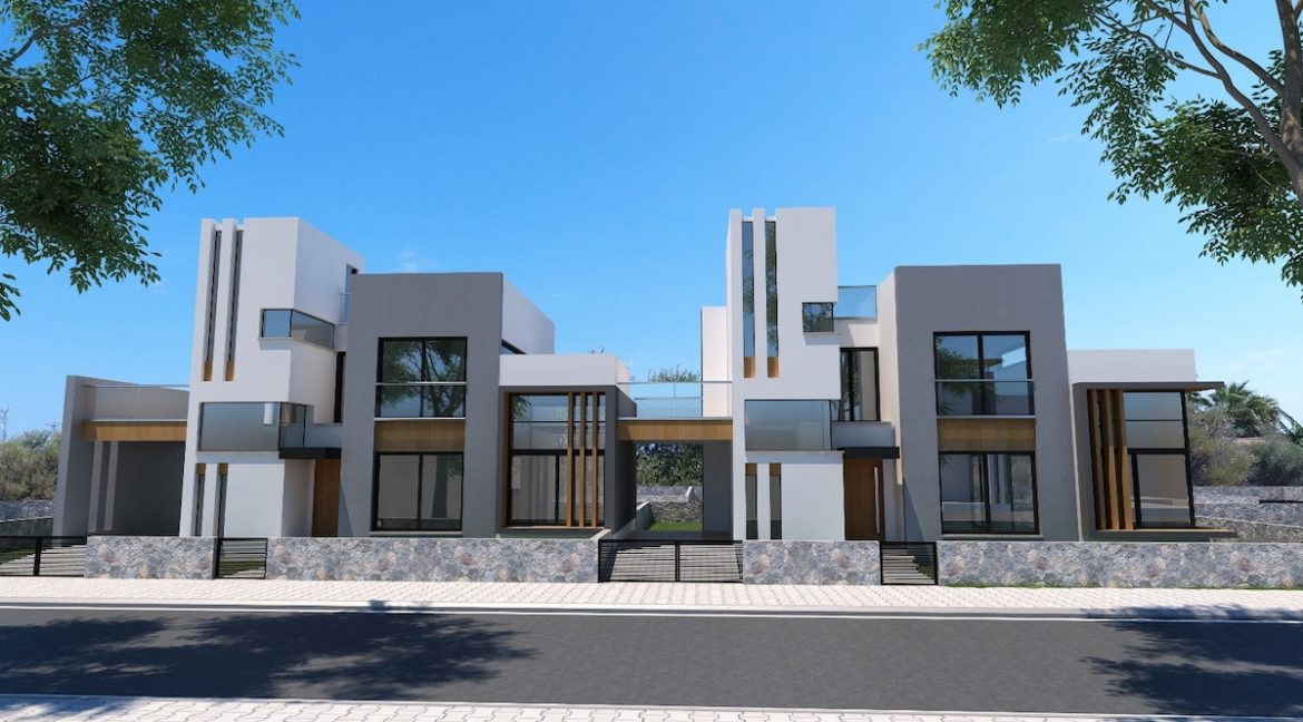 Karsiyaka Modern Luxury Seaview Villa 3 Bed - North Cyprus Property 2