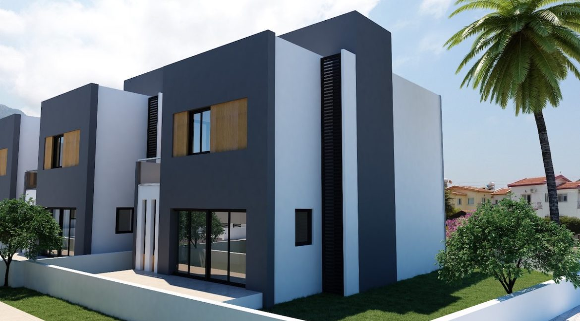 Karsiyaka Modern Luxury Seaview Villa 3 Bed - North Cyprus Property 3