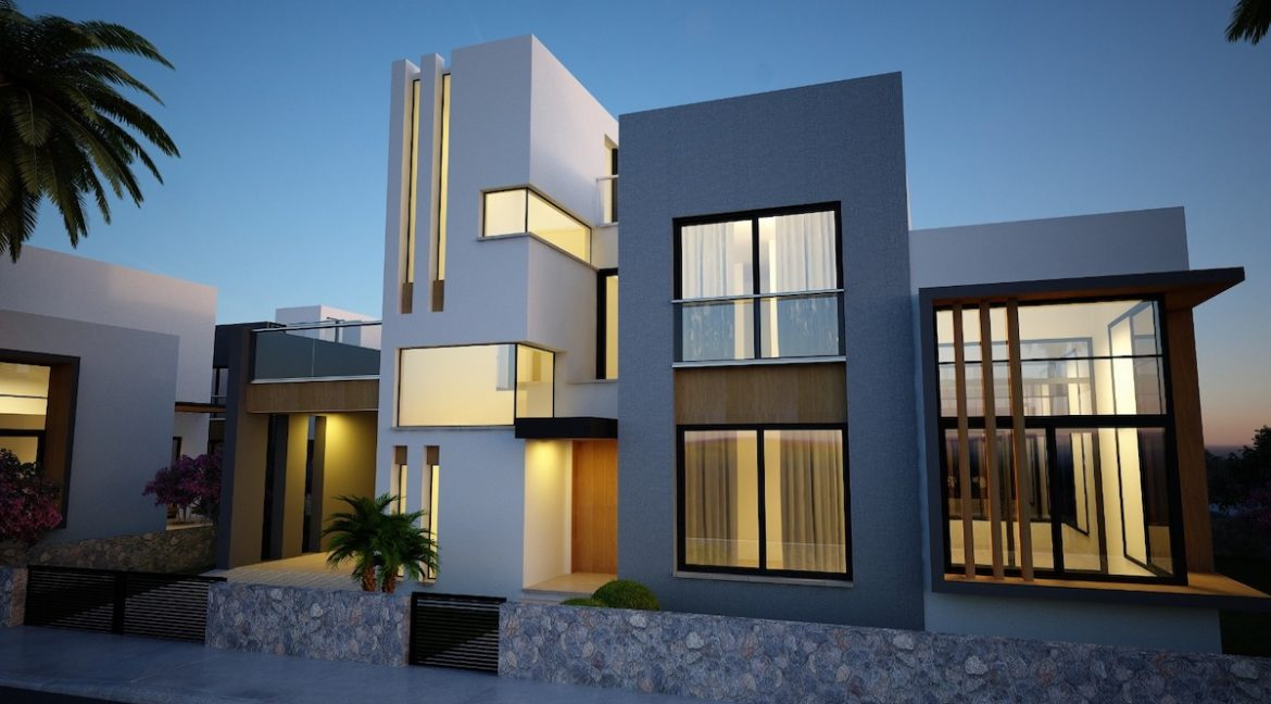 Karsiyaka Modern Luxury Seaview Villa 3 Bed - North Cyprus Property 6