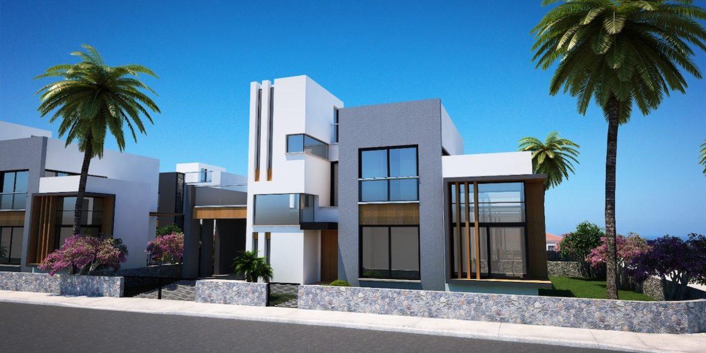 Karsiyaka Modern Luxury Seaview Villa 3 Bed - North Cyprus Property 9