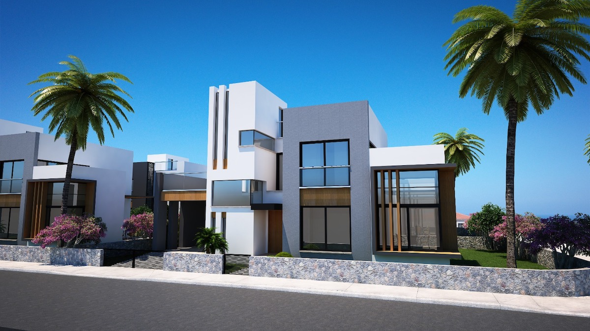 Karsiyaka Modern Luxury Seaview Villa 3 Bed