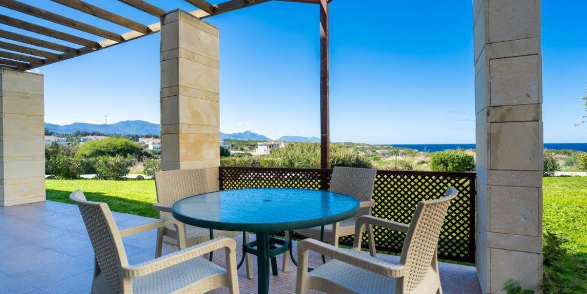 Turtle Beach & Golf Seaview Garden Apartment 3 Bed - North Cyprus Property 12