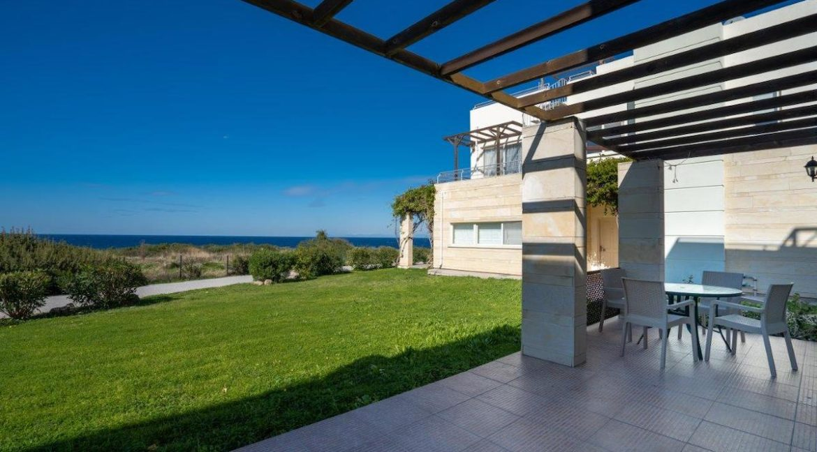 Turtle Beach & Golf Seaview Garden Apartment 3 Bed - North Cyprus Property 13