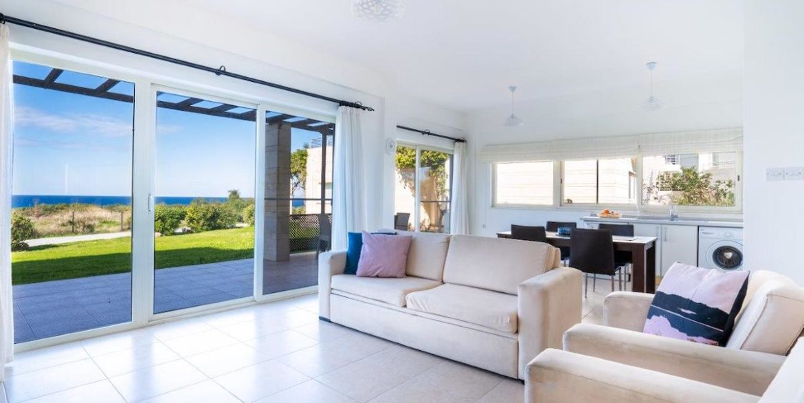 Turtle Beach & Golf Seaview Garden Apartment 3 Bed - North Cyprus Property 3