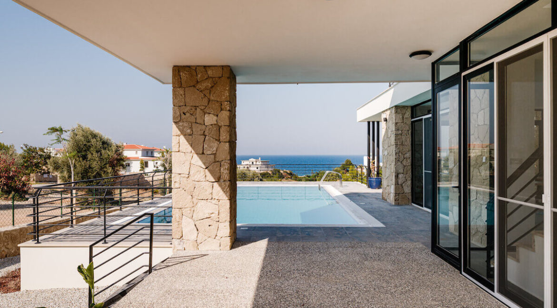 Beachfront Ultra-Modern Seaview villa 3 Bed - North Cyprus Property 10