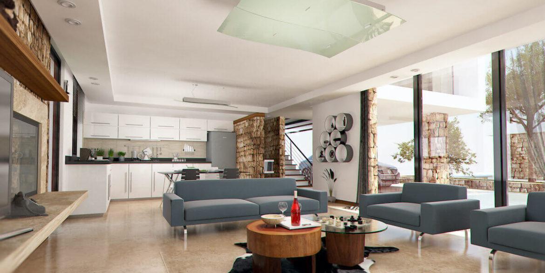 Beachfront Ultra-Modern Seaview villa 3 Bed - North Cyprus Property 2