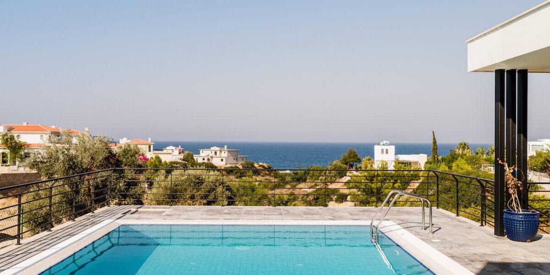 Beachfront Ultra-Modern Seaview villa 3 Bed - North Cyprus Property 5