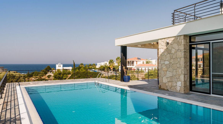 Beachfront Ultra-Modern Seaview villa 3 Bed - North Cyprus Property 6