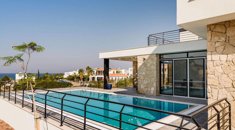 Beachfront Ultra-Modern Seaview villa 3 Bed - North Cyprus Property 7