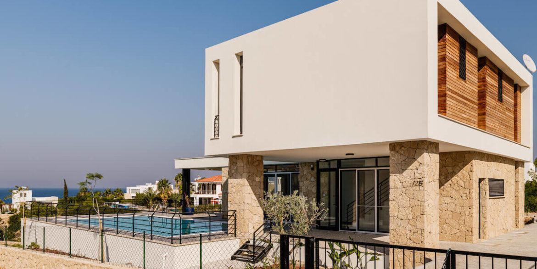 Beachfront Ultra-Modern Seaview villa 3 Bed - North Cyprus Property 8