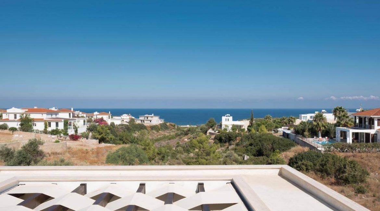 Beachfront Ultra-Modern Seaview villa 3 Bed - North Cyprus Property Z11