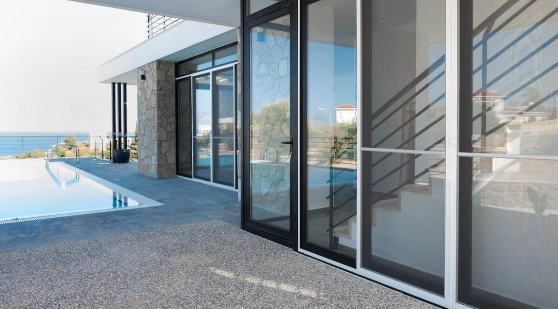 Beachfront Ultra-Modern Seaview villa 3 Bed - North Cyprus Property Z12